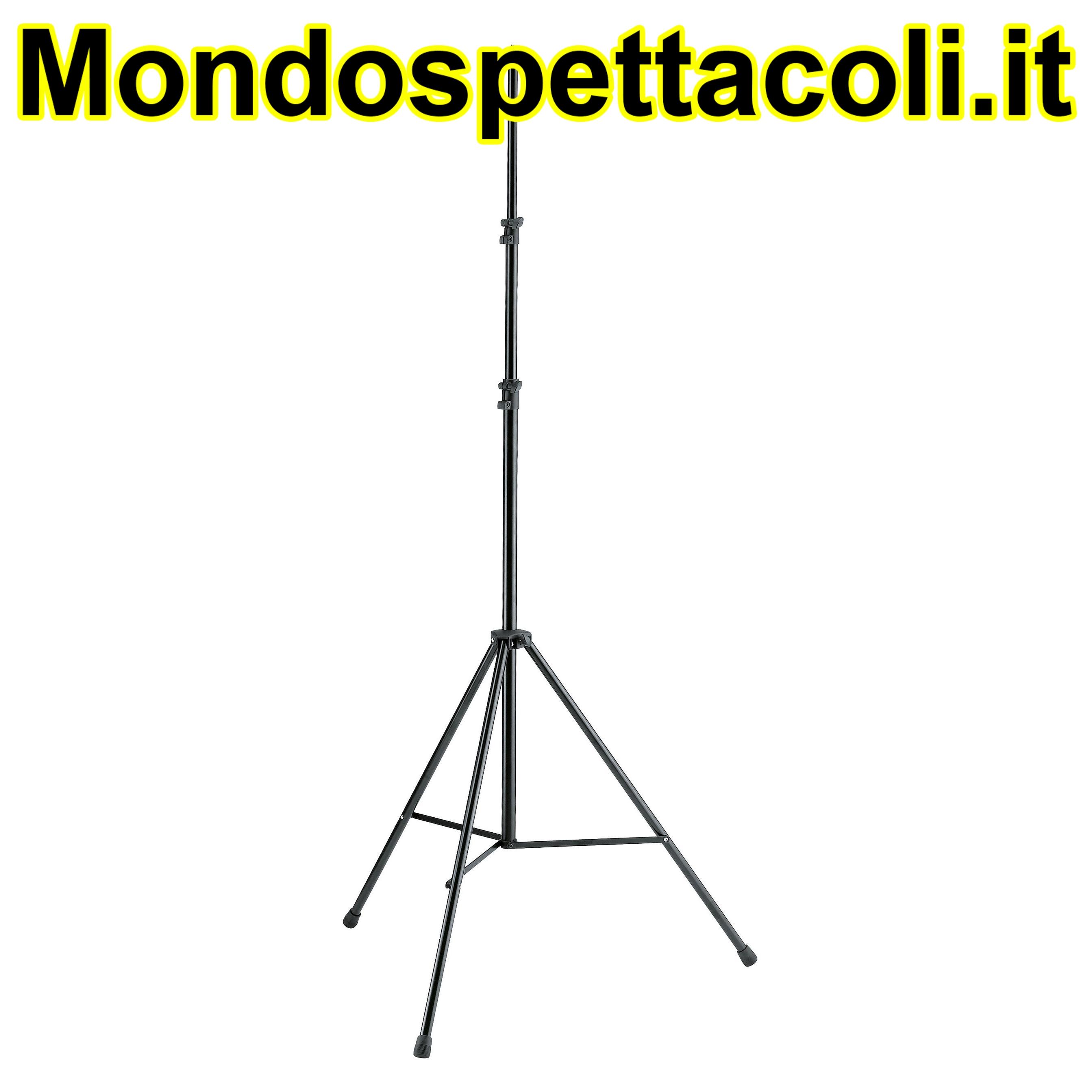 K&M black Overhead microphone stand 20800-309-55
