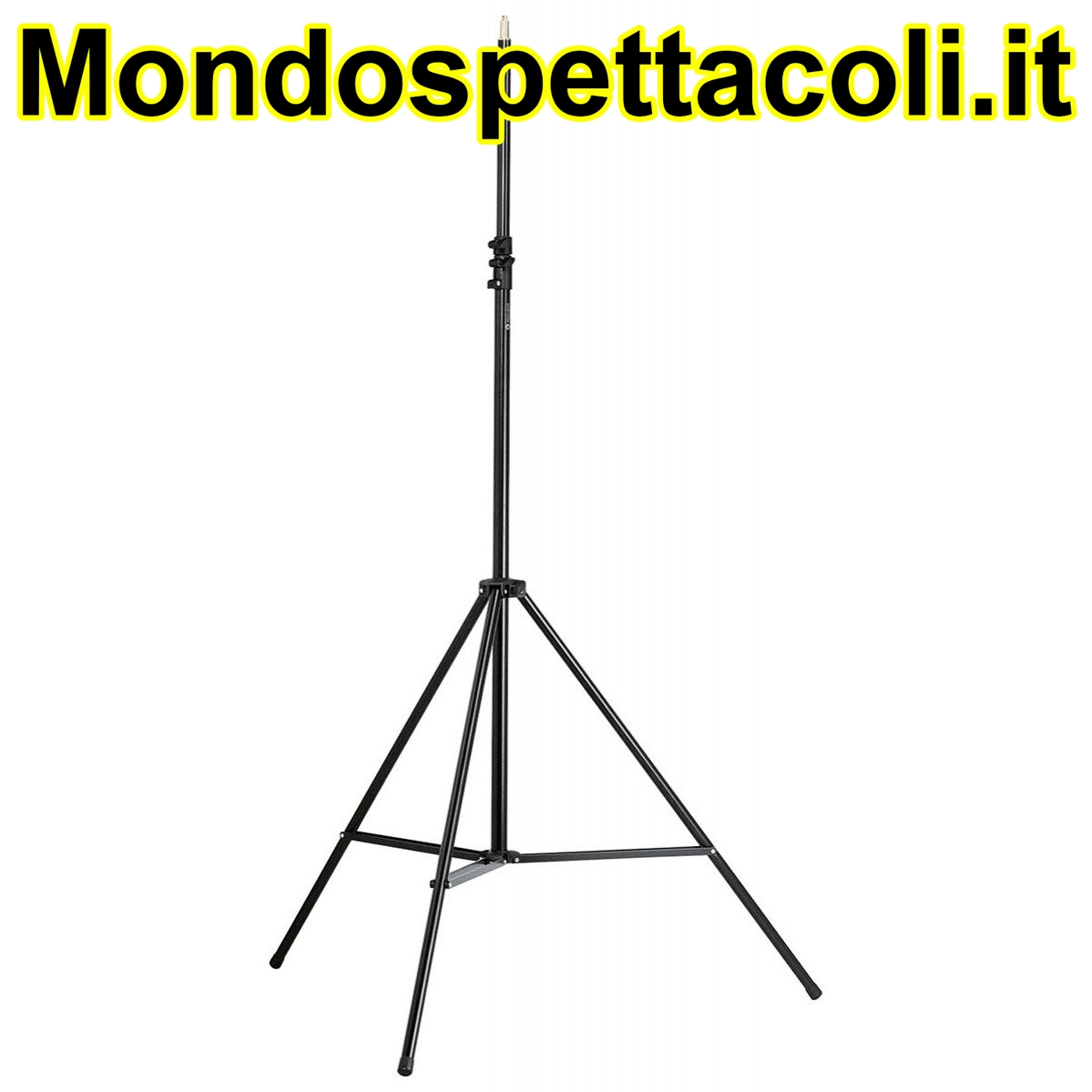 K&M black Overhead microphone stand 21411-400-55