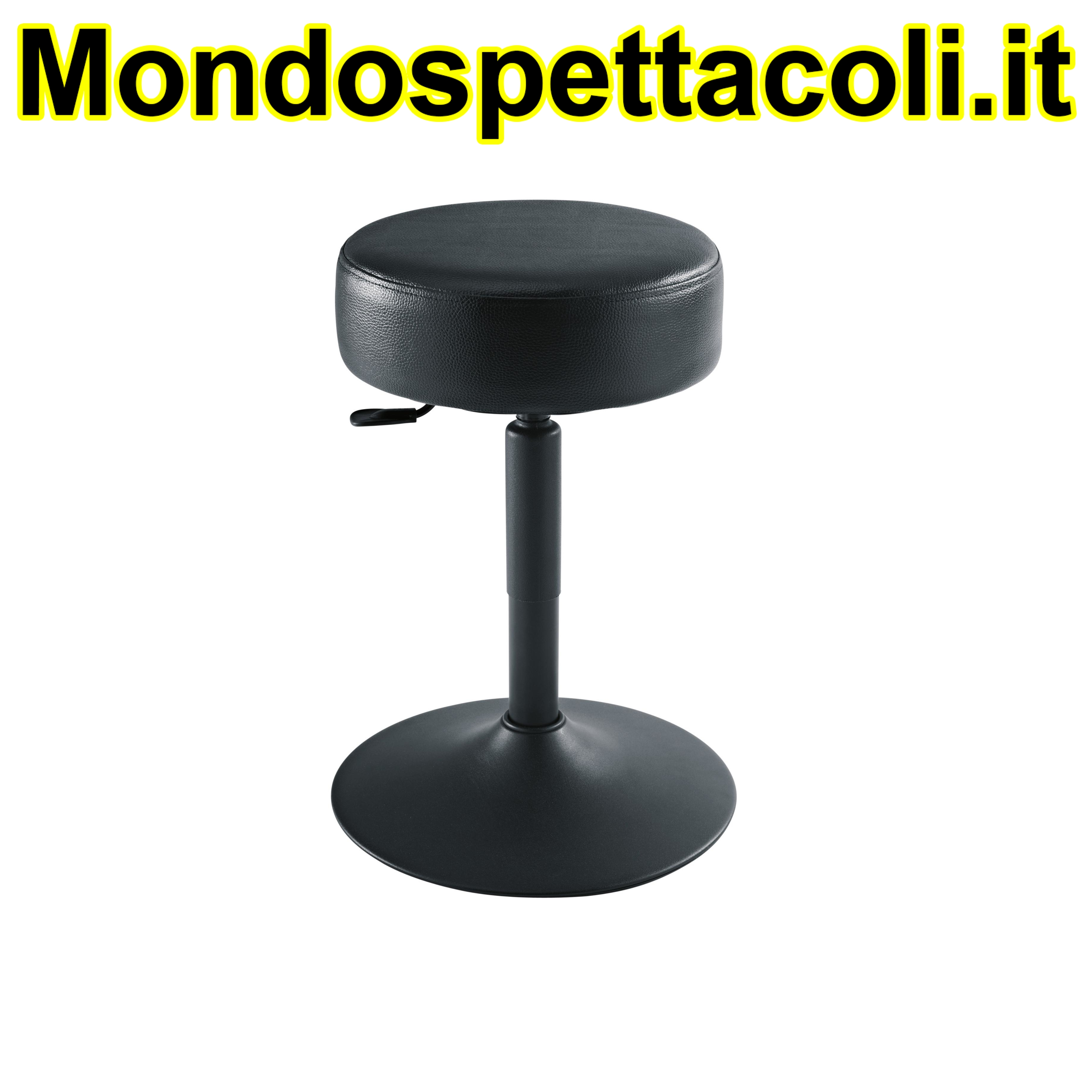 K&M black Piano stool 14092-017-55