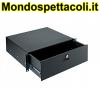 K&M black Rackmount storage 49123-073-55