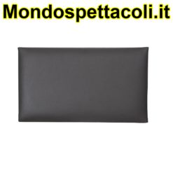 K&M black Seat cushion - imitation leather 13820-200-00