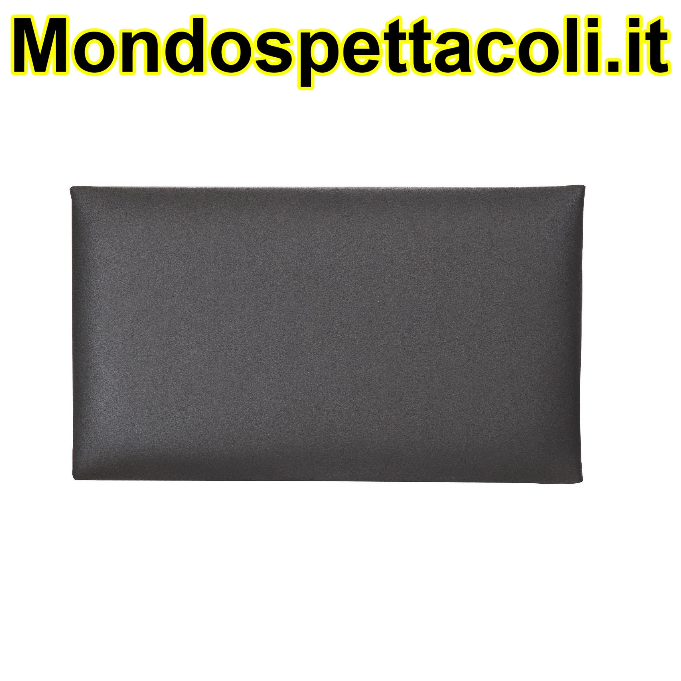 K&M black Seat cushion - imitation leather 13820-200-00