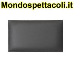 K&M black Seat cushion - leather 13840-400-00