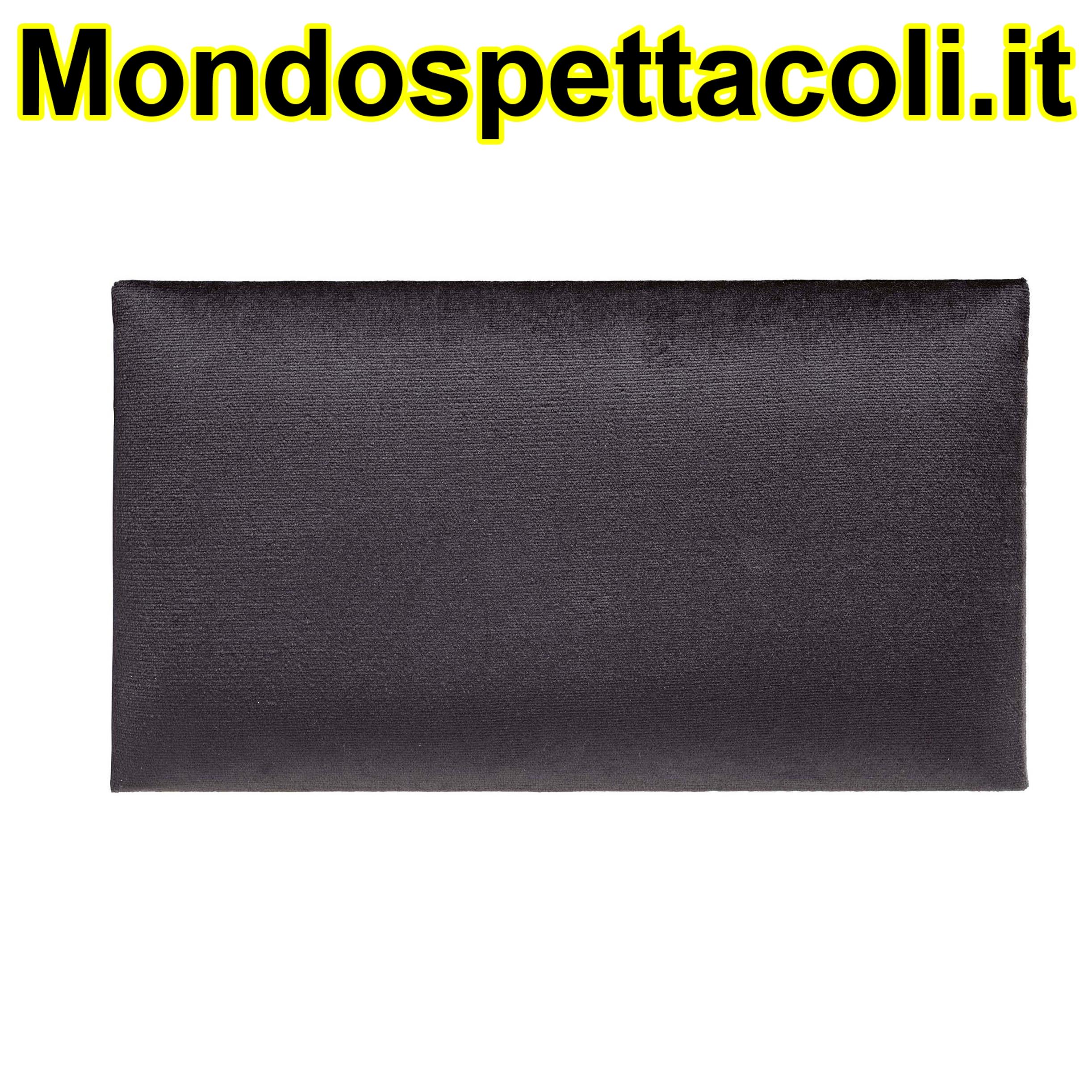 K&M black Seat cushion - velvet 13800-100-00