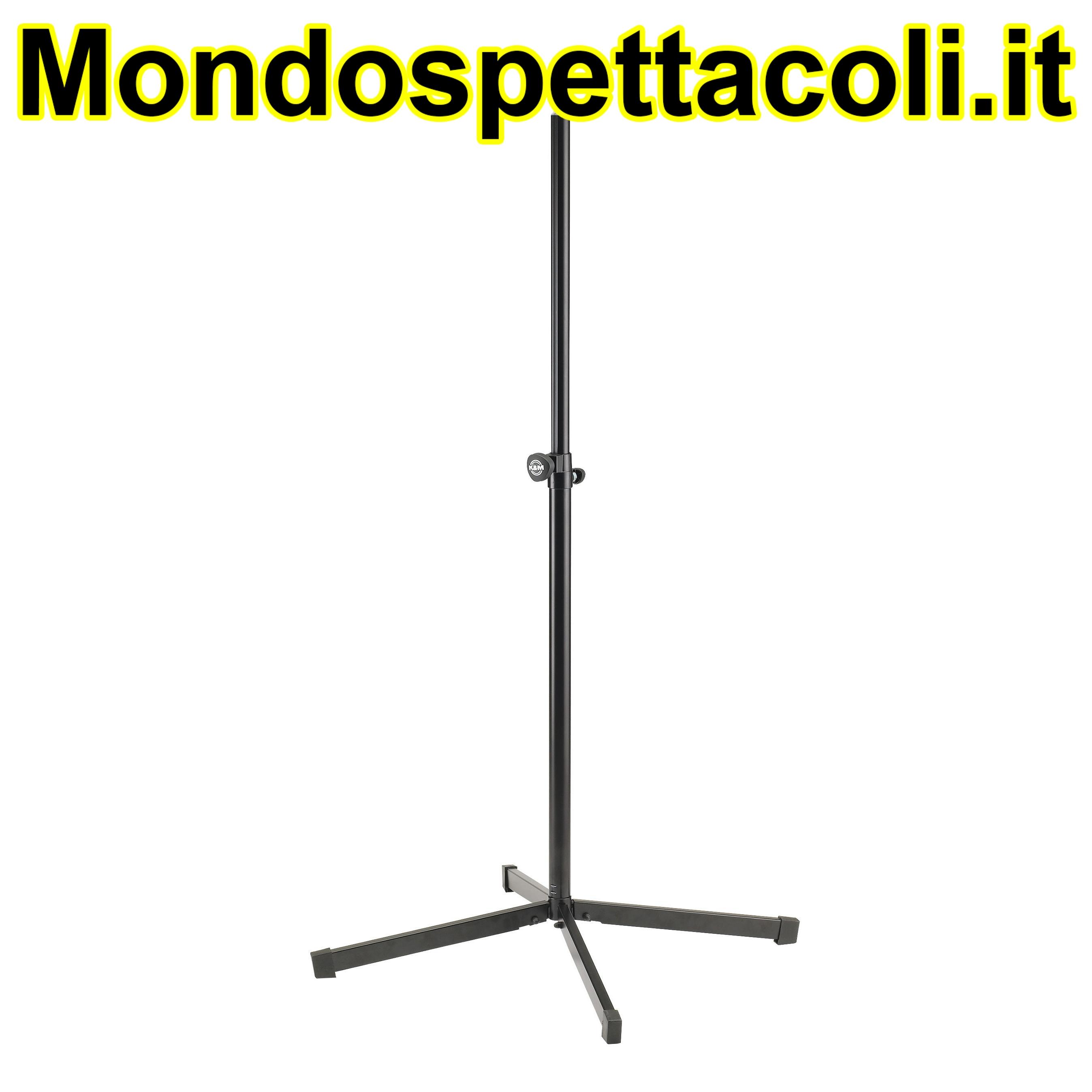 K&M black Speaker stand 19500-011-55