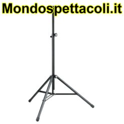 K&M black Speaker stand with pneumatic spring 21463-000-55