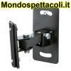 K&M black Speaker wall mount 24180-000-55