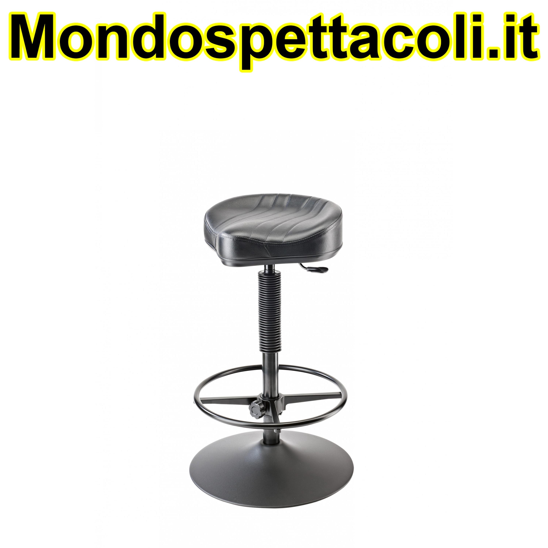 K&M black Stage stool 14091-000-55