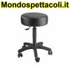 K&M black Stage stool 14094-017-55
