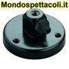 K&M black Table flange 22130-300-55