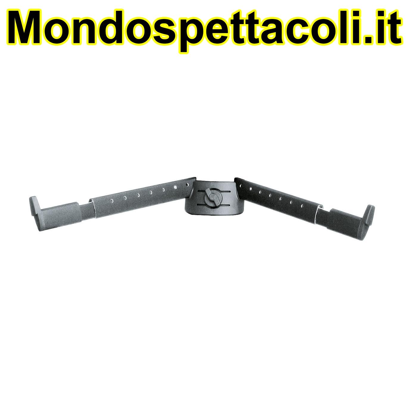 K&M black anodized Support arm set B 18866-000-35