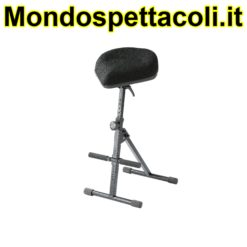 K&M black fabric Pneumatic stool 14046-000-55