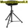 K&M black fabric Stool 14053-000-55