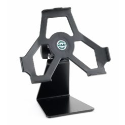 K&M black iPad table stand 19752-000-55