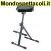 K&M black imitation leather Pneumatic stool 14047-000-55