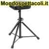 K&M black imitation leather Stool 14052-000-55