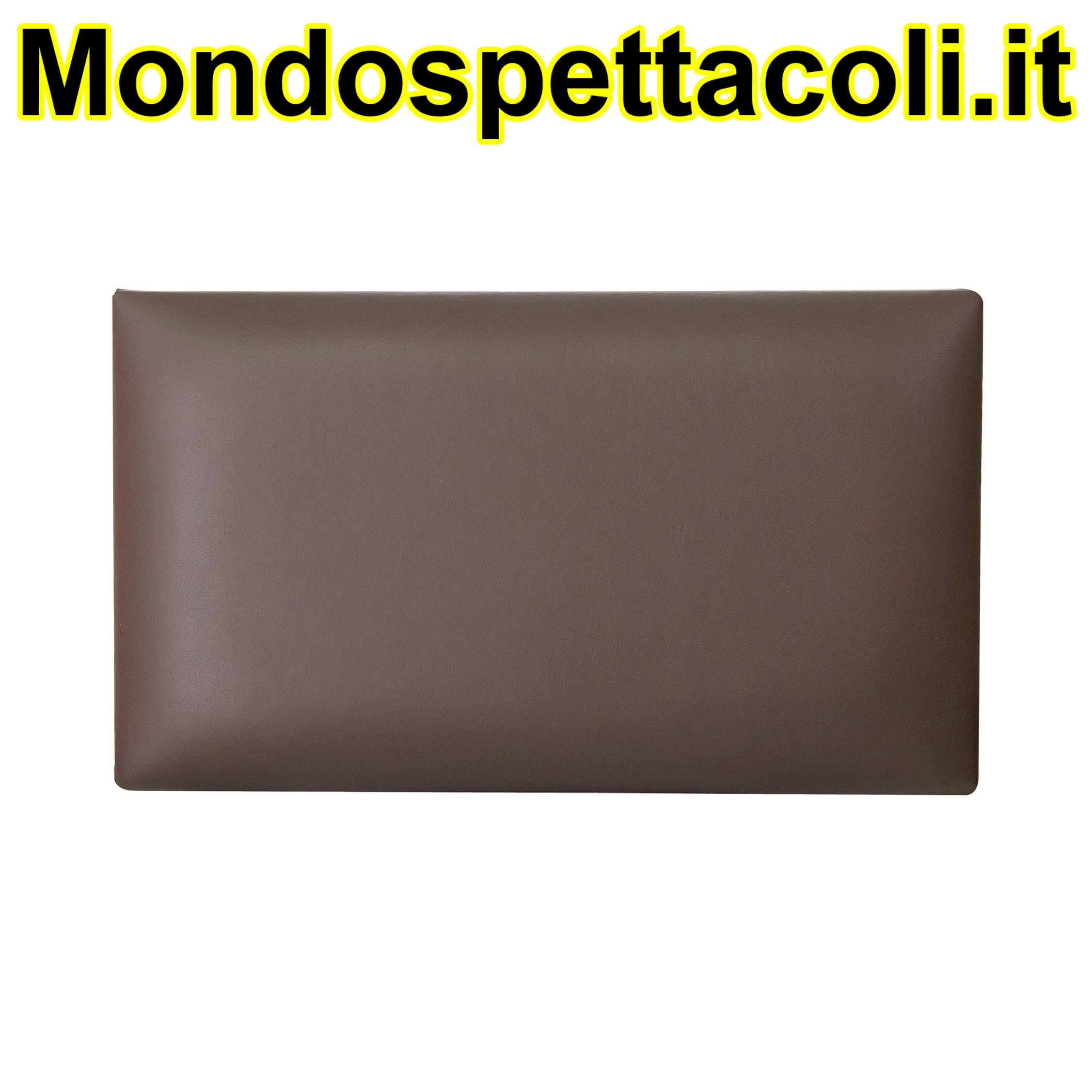 K&M brown Seat cushion - imitation leather 13821-201-00