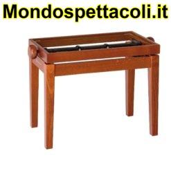 K&M cherry matt finish Piano bench - wooden-frame 13740-000-28