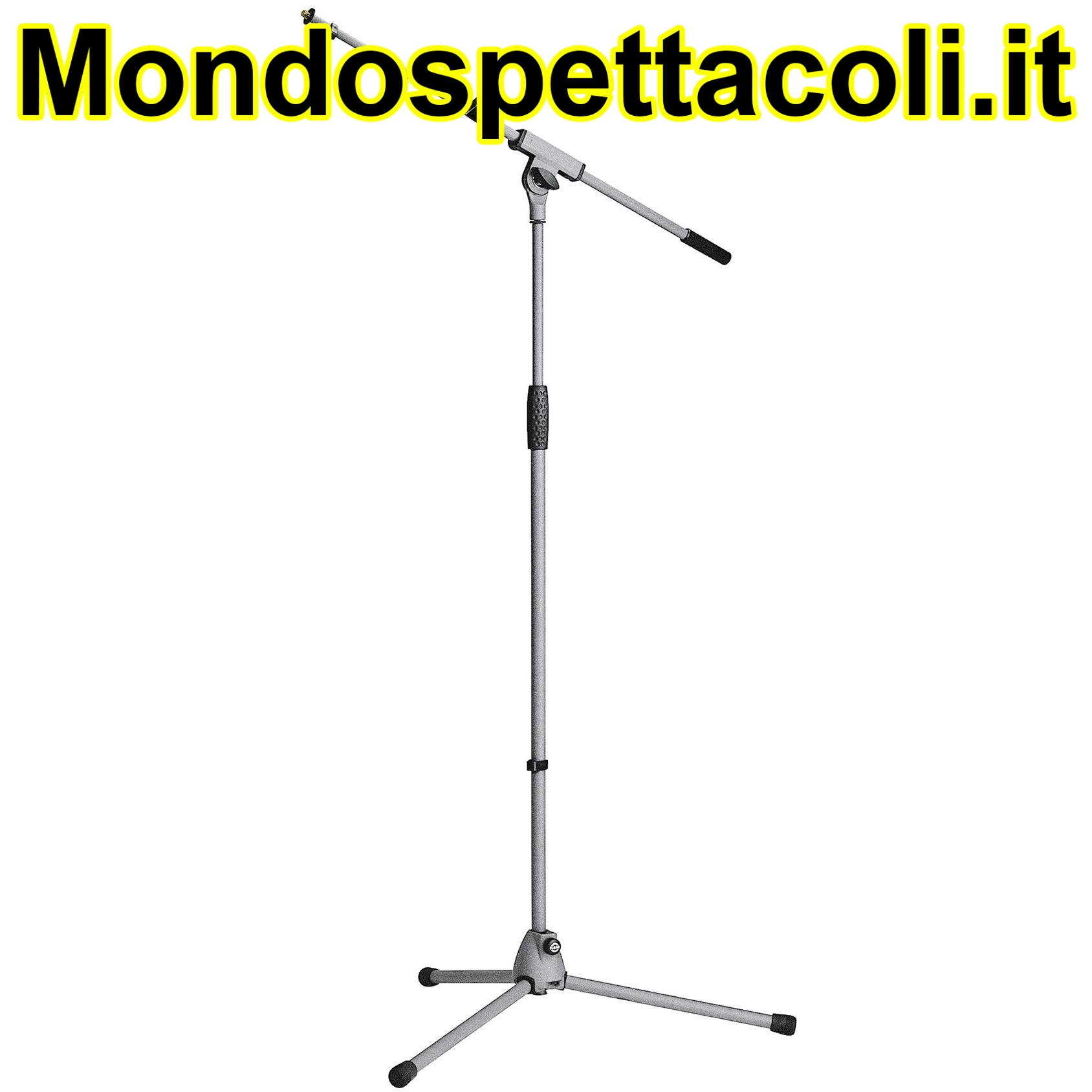 K&M gray Microphone stand Soft-Touch 21080-300-87