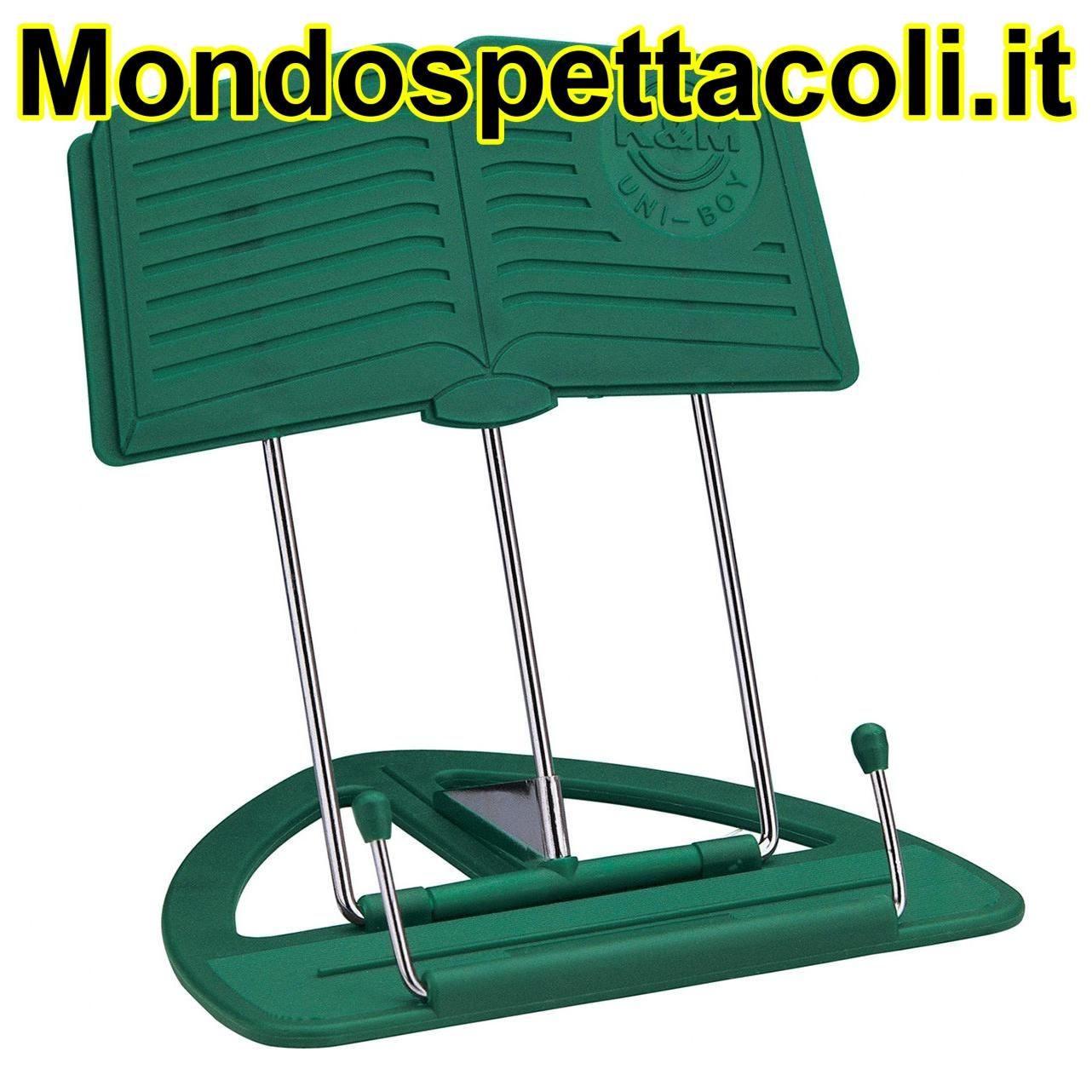 K&M green Uni-Boy Classic stand 12450-012-60