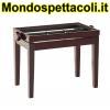 K&M mahogany glossy finish Piano bench - wooden-frame 13751-000-31