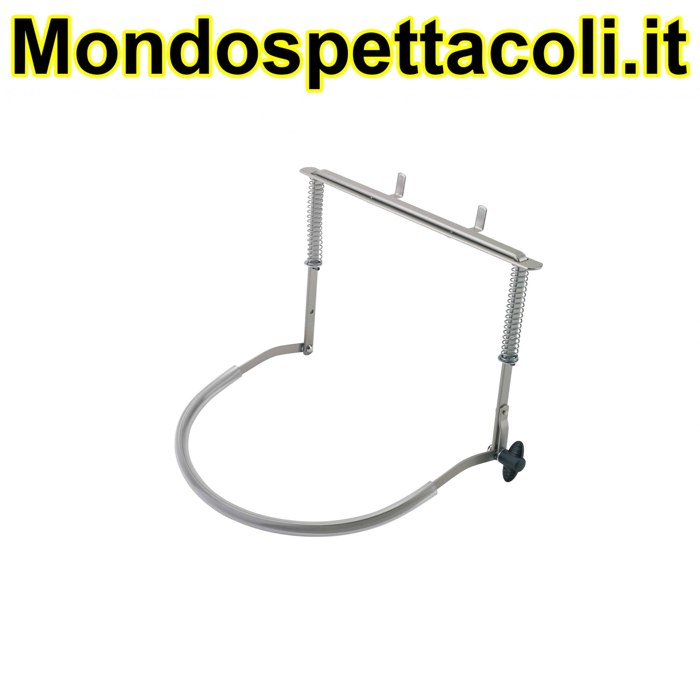 K&M nickel-colored Harmonica holder 16410-000-11