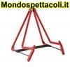 K&M red A-guitar stand Heli 2 17580-014-59