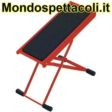 K&M red Footrest 14670-014-59