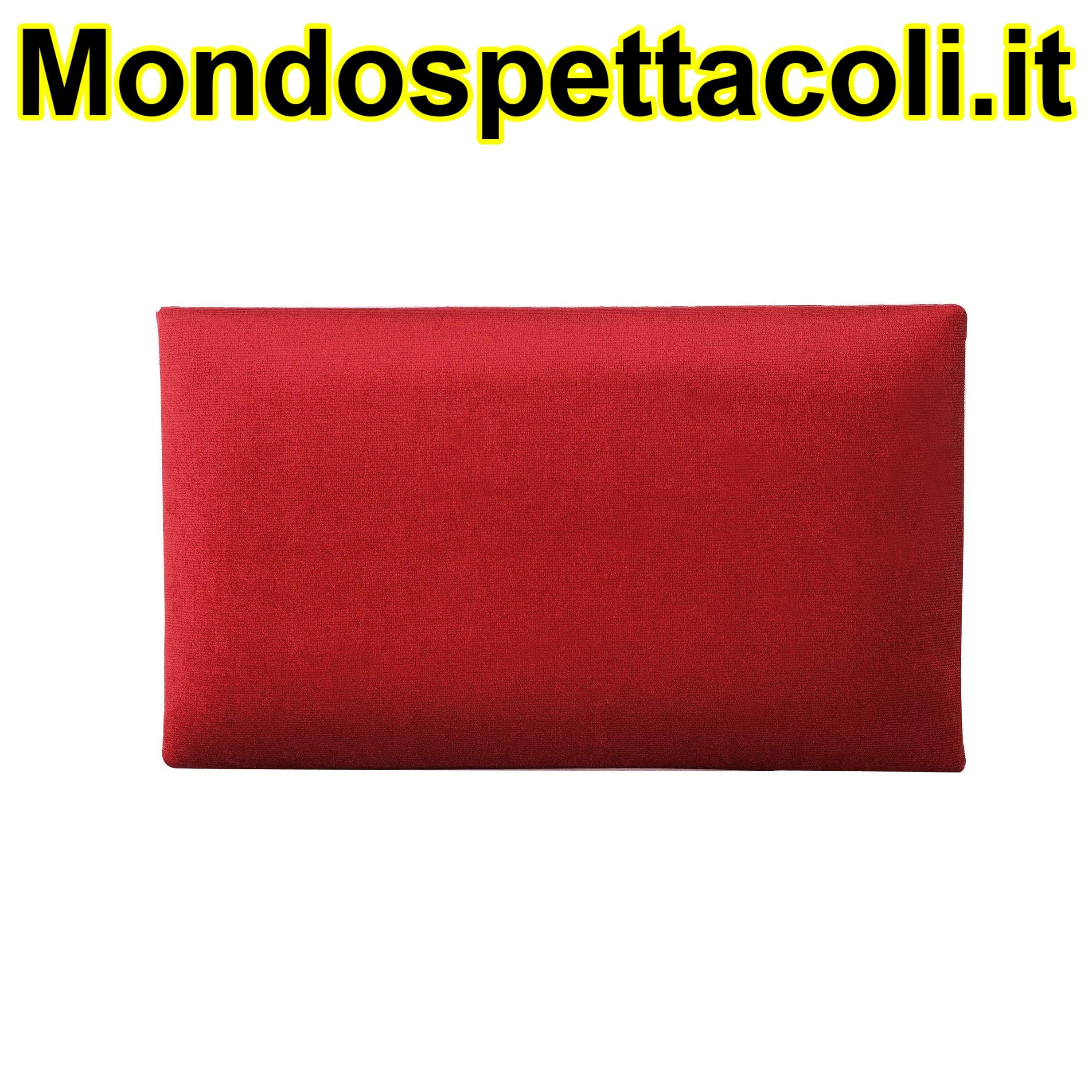 K&M red Seat cushion - velvet 13802-102-00