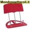 K&M red Uni-Boy Classic stand 12450-012-59
