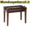 K&M rosewood matt finish Piano bench - wooden-frame 13720-000-24