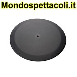 K&M structured black Base plate 26700-000-56
