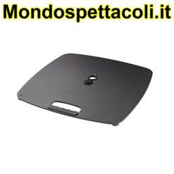 K&M structured black Base plate 26705-000-56