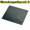 K&M structured black Bearing plate 26792-032-56
