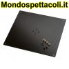K&M structured black Bearing plate 26792-042-56