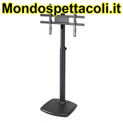 K&M structured black Screen/Monitor stand 26782-000-56
