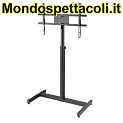 K&M structured black Screen/Monitor stand 26783-000-56