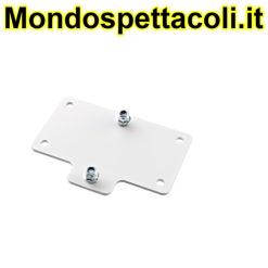 K&M white Adapter panel 4 24357-000-57