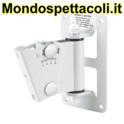 K&M white Speaker wall mount 24471-000-57