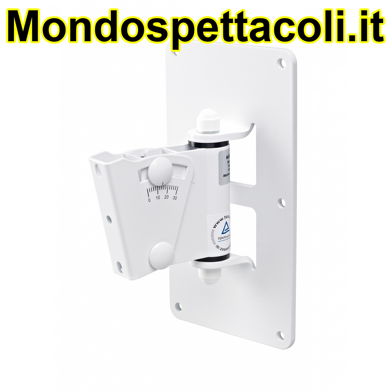 K&M white Speaker wall mount 24481-000-57