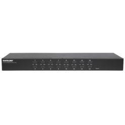 KVM Switch 16 porte combo USB + PS/2, OSD