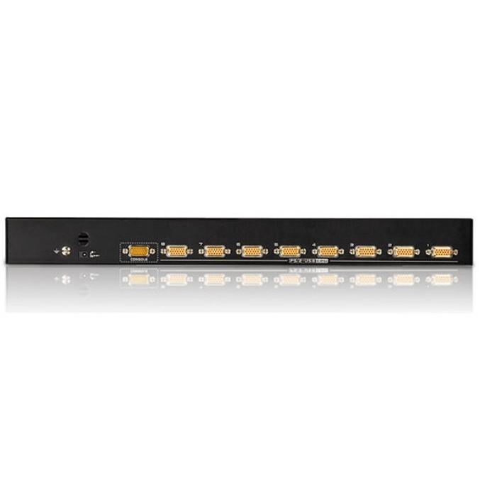 KVM Switch 8 porte combo USB + PS2, CS1308