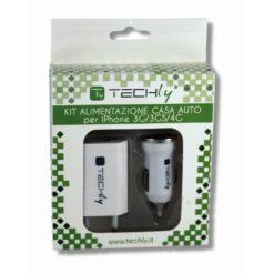 Kit alimentazione casa auto per iPhone 3G/3GS/4/4s