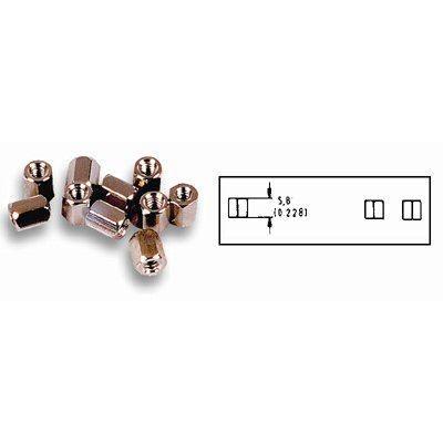 Kit dadi, UNC 4 - 40 (conf. 2 pezzi)