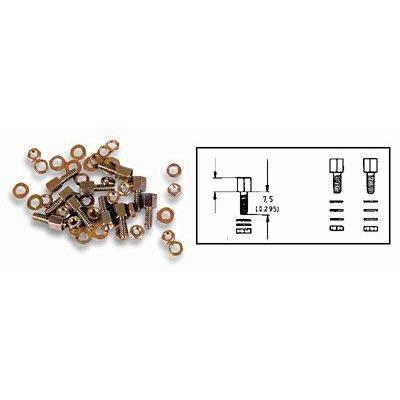 Kit viti, dadi, UNC 4 -40 (conf. 2 pezzi)