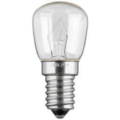 Lampada E14 per Elettrodomestici 25W, 110Lm, Classe E