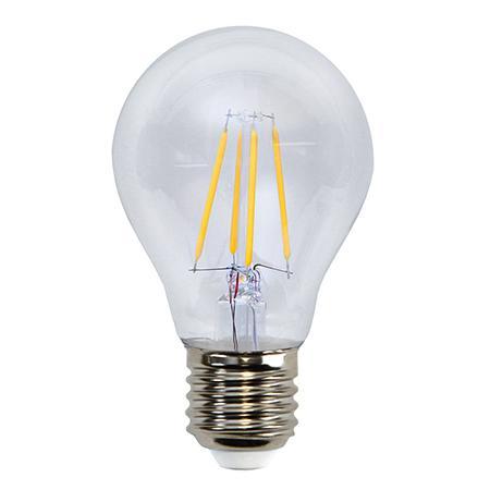 Lampada LED E27 Bianco Caldo 4W Filamento Classe A++