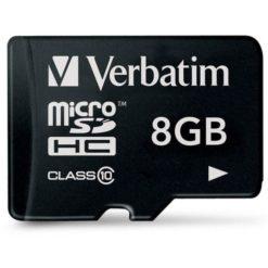 Memoria Micro SDHC 8 Gb - Classe 10