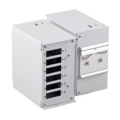 Mini Box Ottico su Barra DIN senza Pannello Frontale