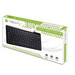 Mini tastiera PS2/USB Nera KB-100